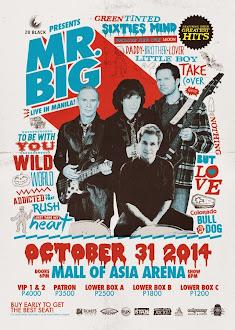 Mr. Big Live in Manila 2014