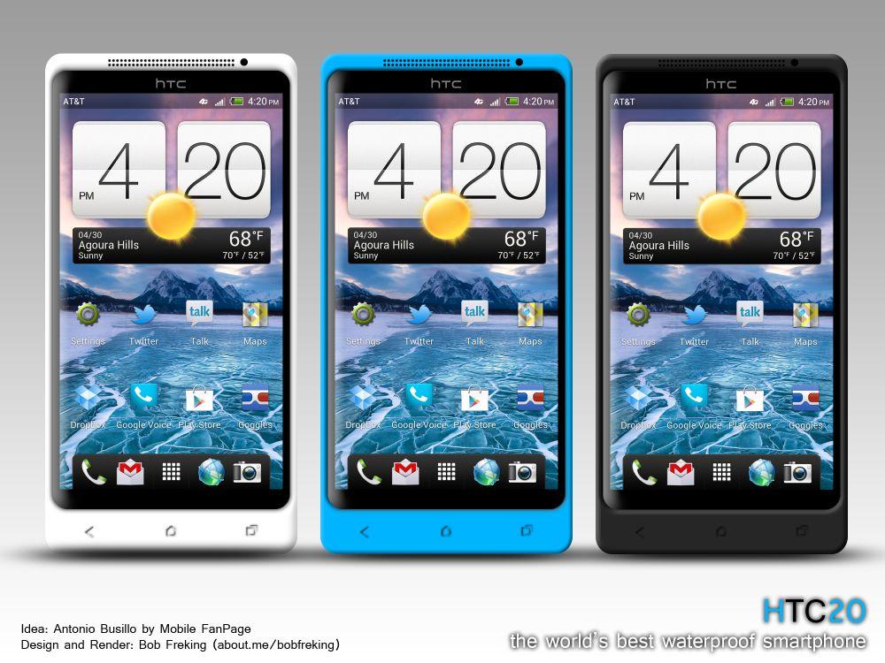 Amazing Future Technology: HTC H2O Waterproof Phone Concept
