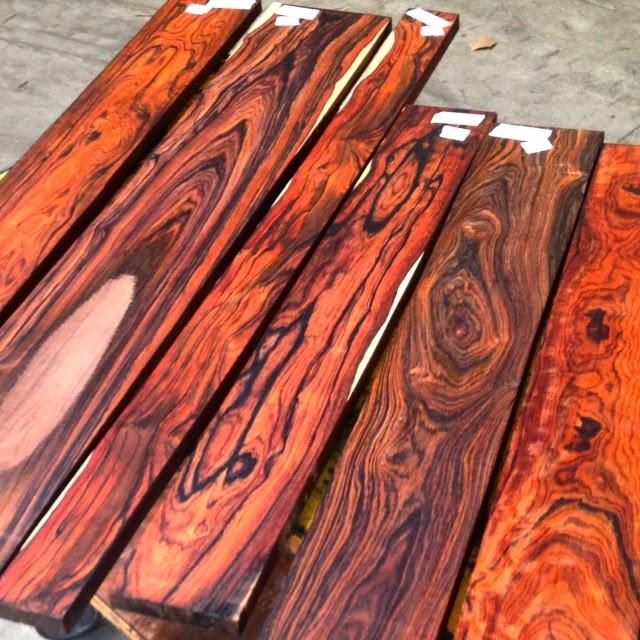Tropical Exotic Hardwoods Cocobolo