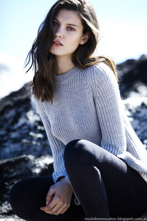 Koxis sweaters otoño invierno 2015. Moda otoño invierno 2015.