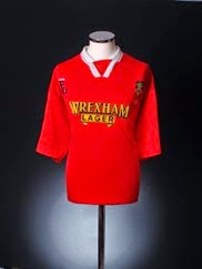 1995 Wrexham 'Welsh Cup Winners' Home Shirt