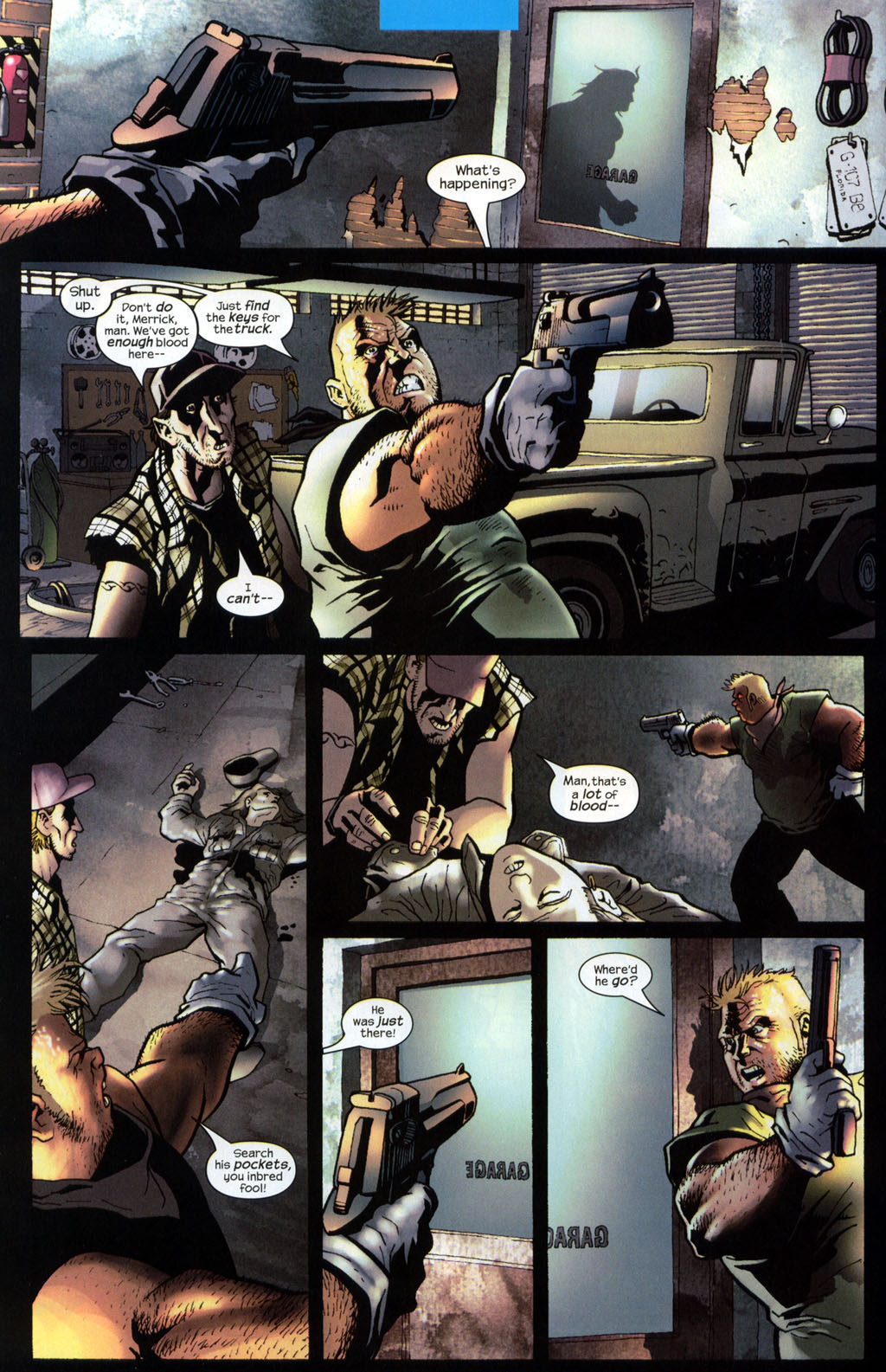 Read online Wolverine (2003) comic -  Issue #7 - 4
