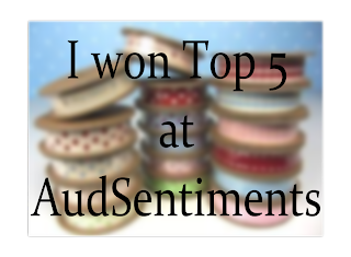 I made it to TOP 5 at AUD Sentiments #100 Bingo!