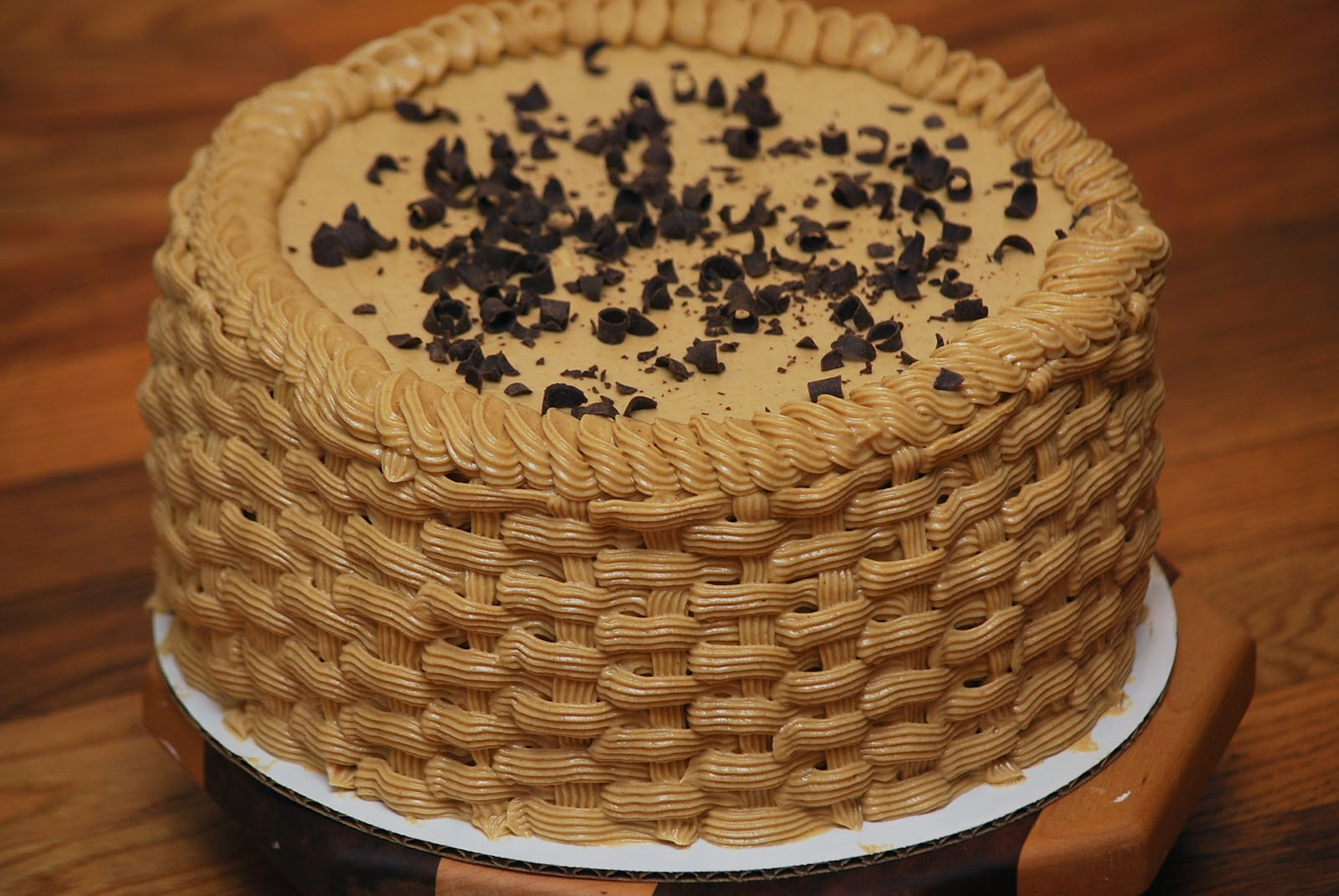 ... in recipes: Banana Chocolate Chip Cake with Peanut Butter Frosting