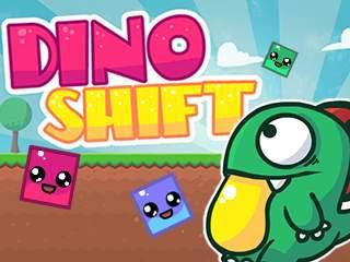 لعبة الديناصور Dino Shift