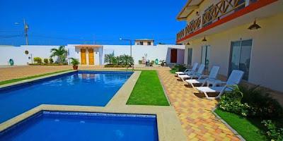 Hostería Milína Beach Hoteles en Salinas