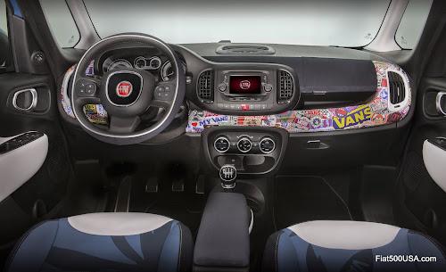 Fiat 500L-Vans Interior