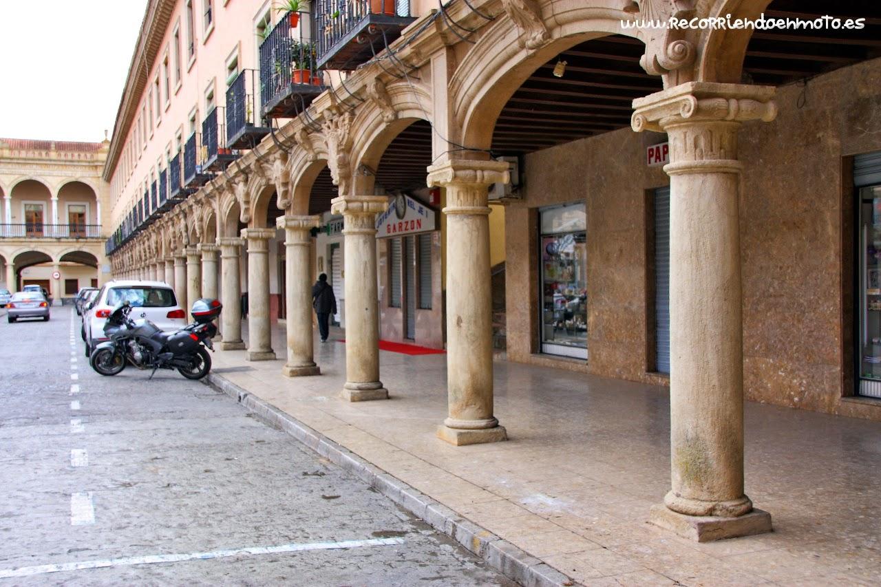 Plaza de la Constitución, Guadix, Granada