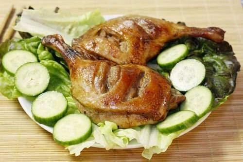 (Đùi Vịt Nướng Chao)  - Grilled Duck Thigh with Soya Cheese