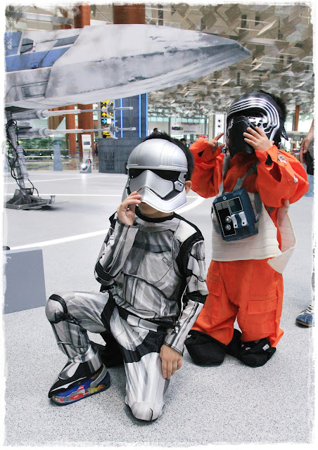 stormtrooper Adam luke skywalker Ashton Tan Star Wars at Changi