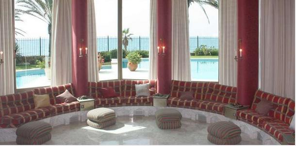 Salón Villa de Lujo, Marbella