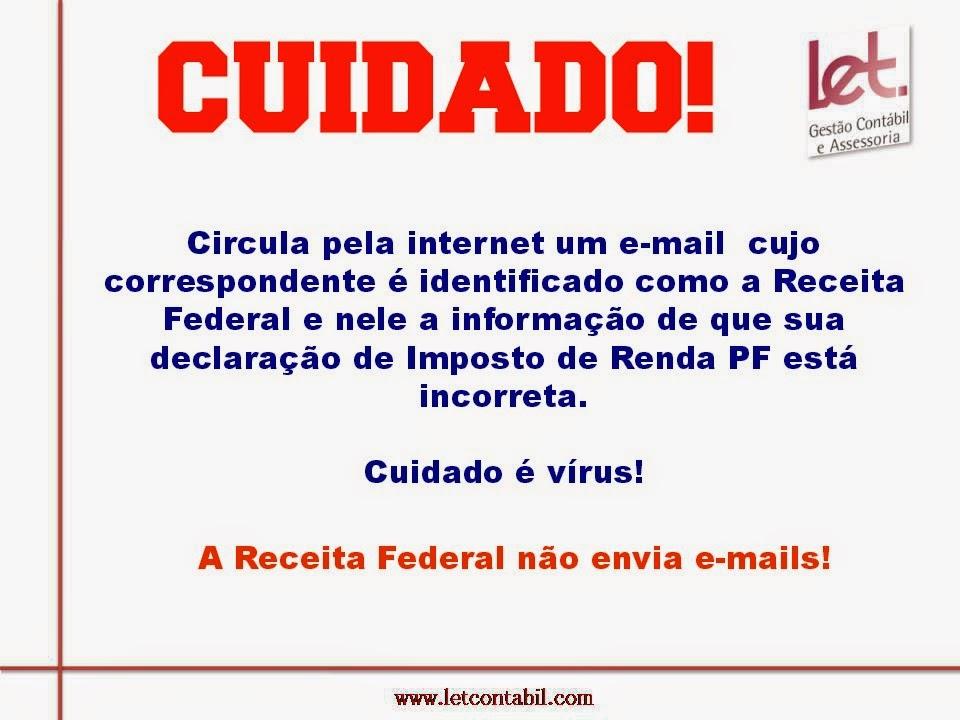 Vírus Receita Federal