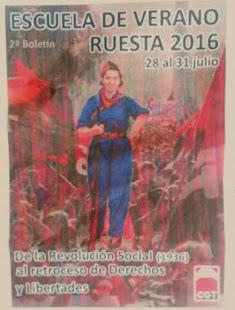 ESCUELA DE VERANO RUESTA 2016
