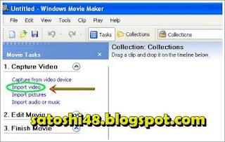 import video on movie maker
