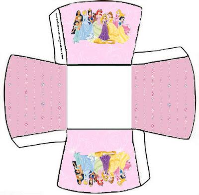 Cajitas imprimibles de Princesas Disney . | Ideas y material gratis ...