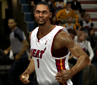 NBA 2K14 Chris Bosh Cyberface Mod