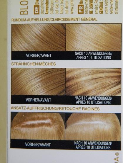 Haare aufhellen mit blond shampoo