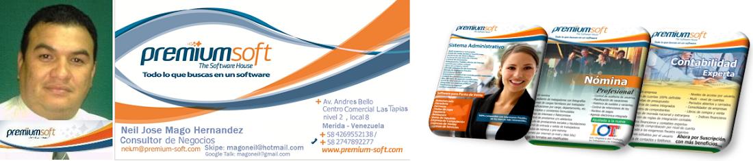 magoneil +58-426-9552138 Consultor de Negocios Premium Soft Andina  Blogger: magoneil.blogspot.com