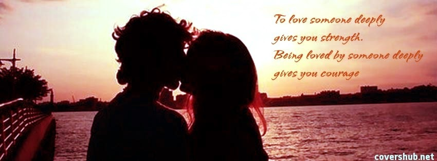 Facebook Timeline Cover in Love Quotes