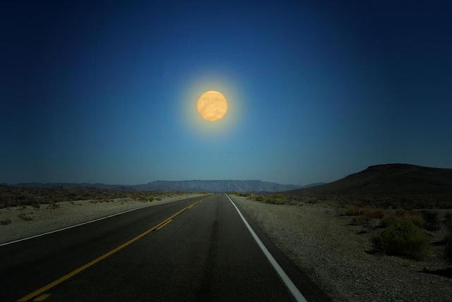 Venus si estuviera a la misma distancia de la Tierra que la Luna