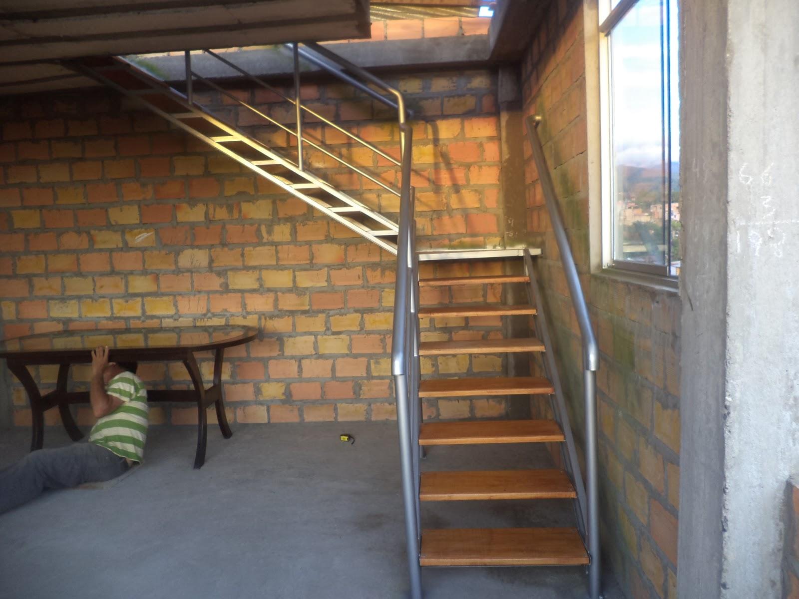 Servicios de carpinteria de metal y madera en tarapoto - Puertas de escalera ...