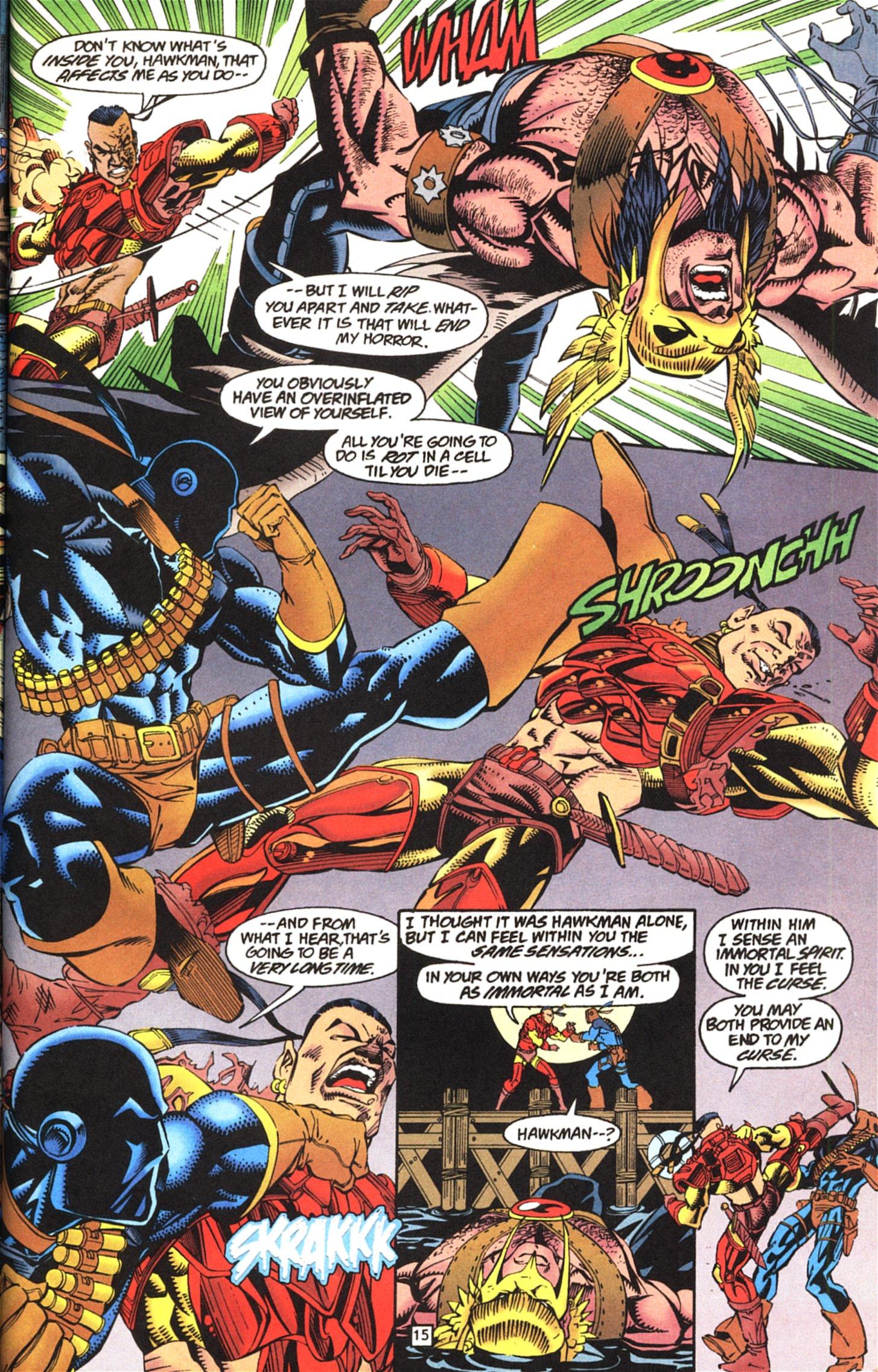 Deathstroke (1991) Issue #52 #57 - English 16