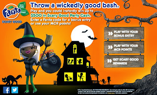 Win $500 Scary Good Party Cash from Fanta