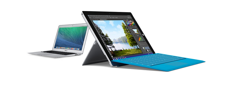 Microsoft Launches New MacBook To Surface Pro 3 Switch