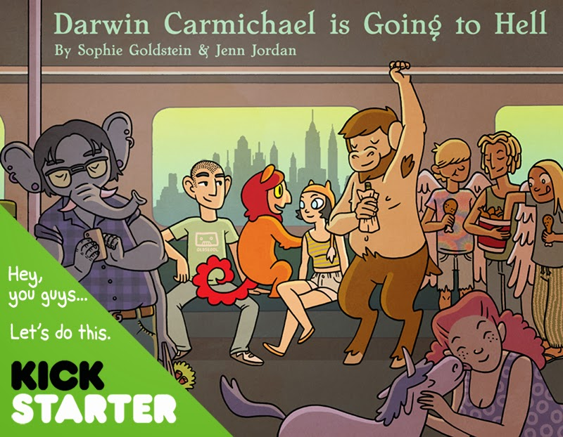 http://www.kickstarter.com/projects/1798486524/darwin-carmichael-is-going-to-hell-the-book
