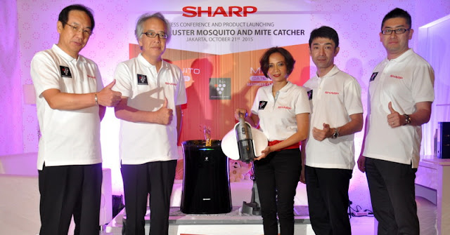 Sharp Rilis Perangkat Penangkap Nyamuk dan Tungau