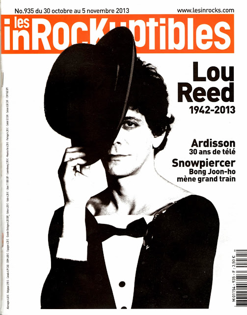 Audrey Pulvar, Christophe Conte, Duran Duran David Lynch, Duran Duran Les Inrocks, Les Inrocks collector, Lou Reed Les Inrocks, Tribute Duran Duran