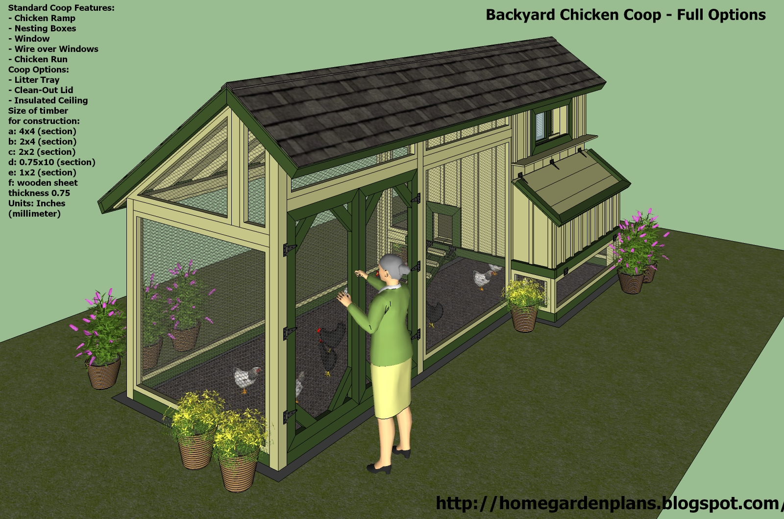 Chicken Coop To Build Knowing Chicken House Plans Free