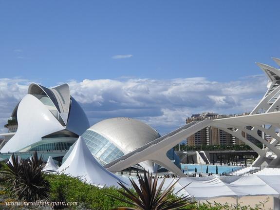 New Life in Spain: Ciudad de las Artes y las Ciencias, Valencia
