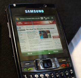 Configuration IAM 3G pour windows mobile