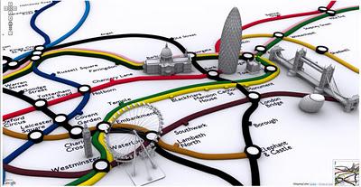 Web Map Design 3d Buildings As Landmarks In Mobile Maps