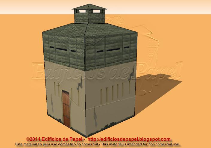 Nuevas maquetas de papel de fortines coloniales