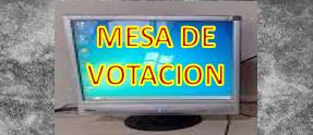 LUGAR DE VOTACION