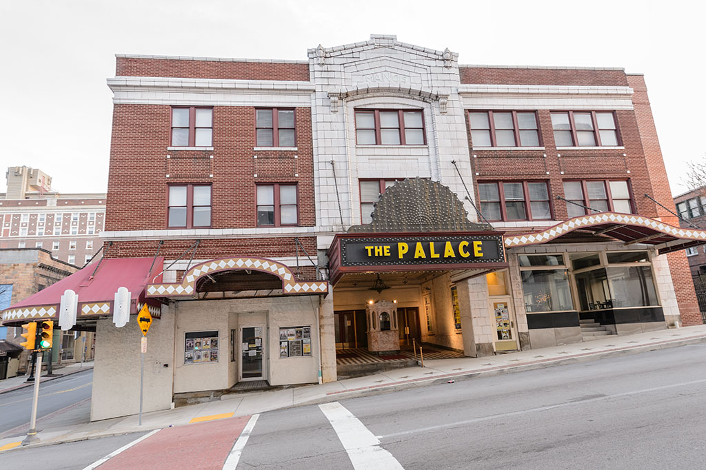 The Palace Theater in Greensburg, PA
