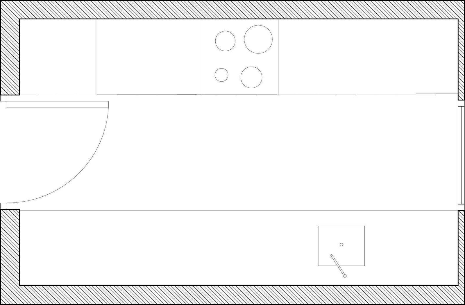 Como distribuir una cocina recursos interior autocad for Distribucion cocina en paralelo