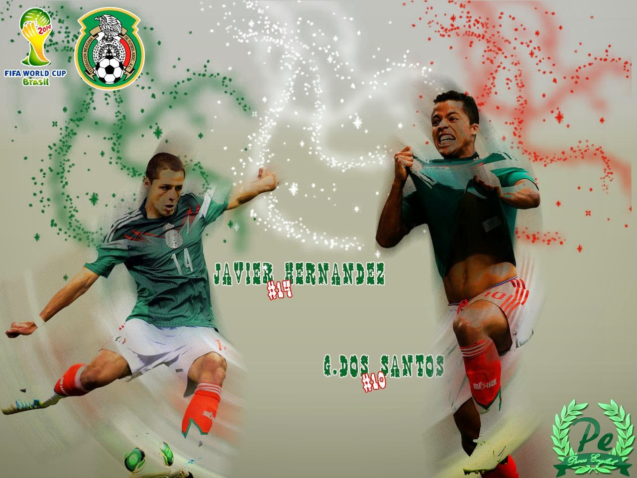 HD Mexico World Cup 2014 Wallpapers