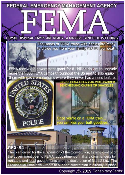 fema camps dees illustrations