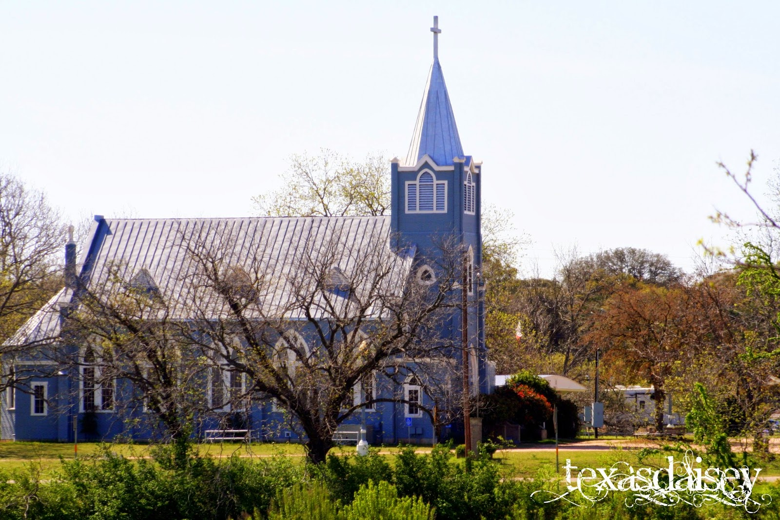 Trinity Lutheran Church near LBJ Ranch