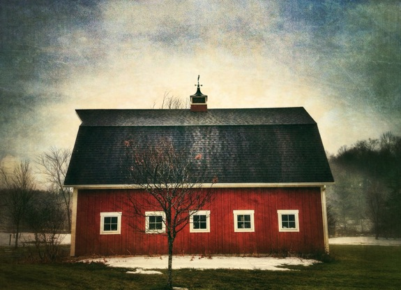 Little Red Barnhouse © Trevor Wilson