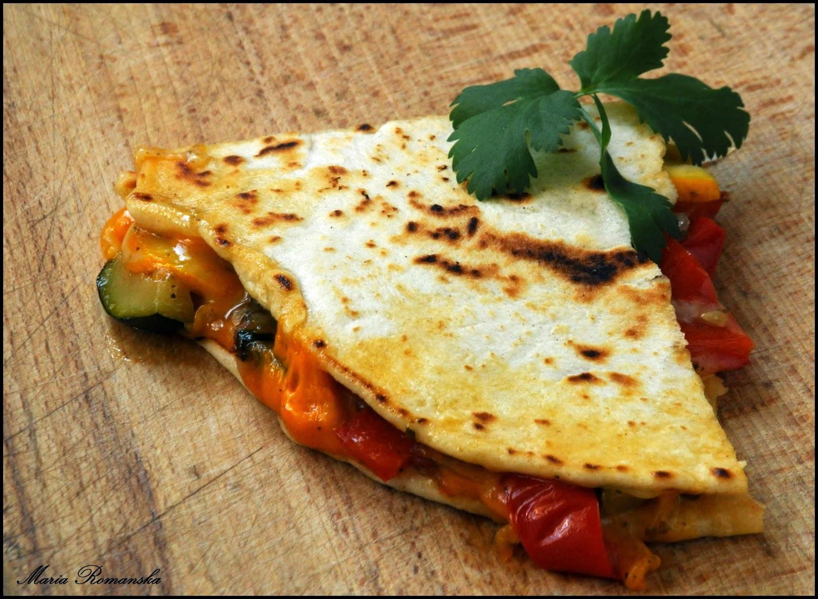 Quesadilla z grillowanymi warzywami