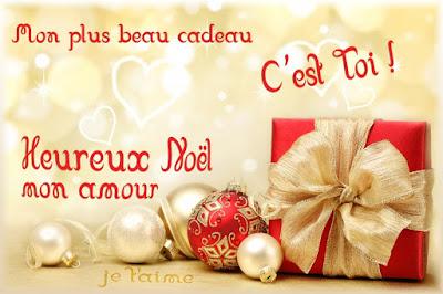 Message d'amour joyeux noël