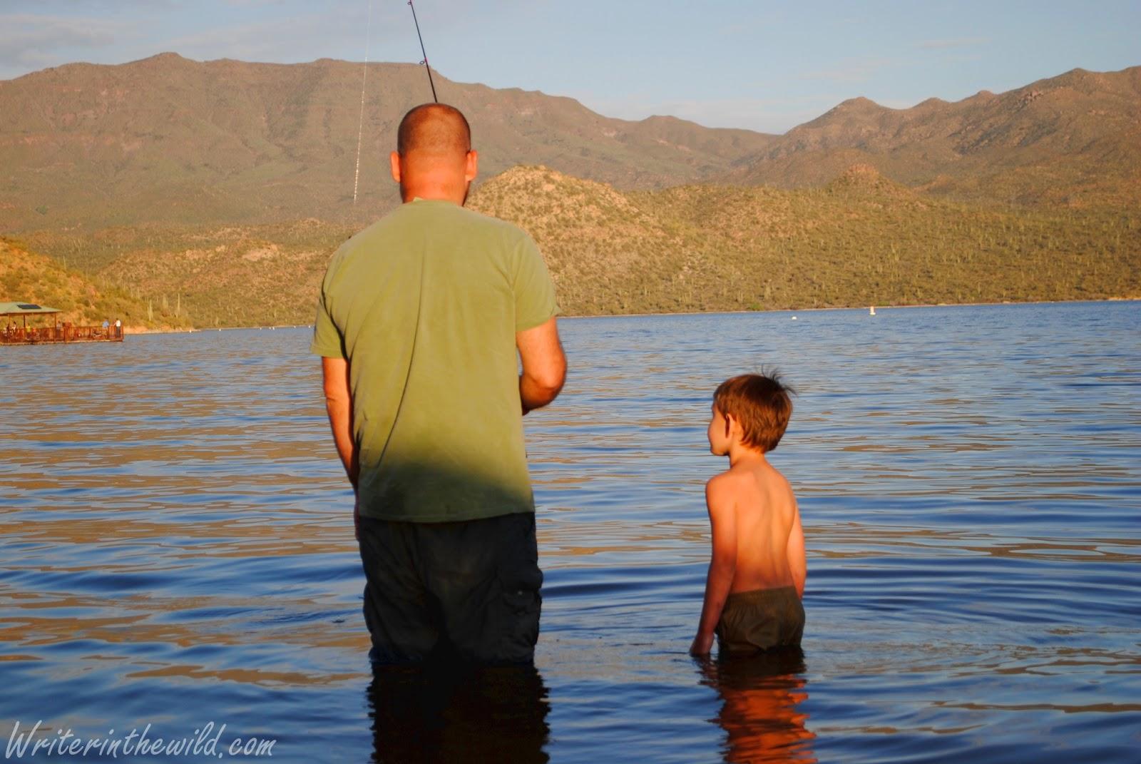 Writer in the wild easter camp on bartlett lake for Bartlett lake fishing report