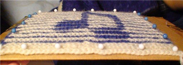Вязание иллюзорная техника