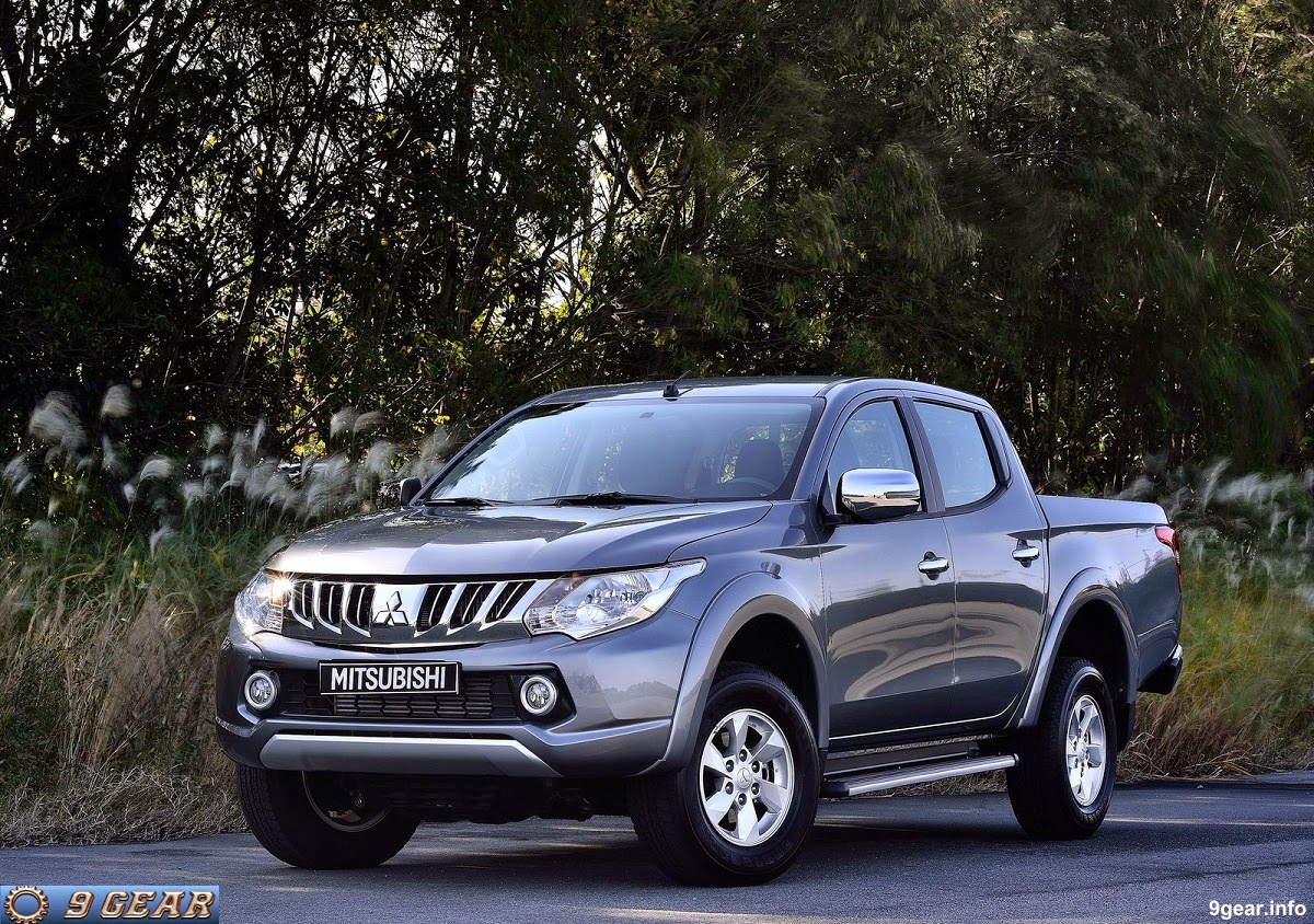 2016 mitsubishi l200 pick up truck unveiled car reviews new car pictures for 2018 2019. Black Bedroom Furniture Sets. Home Design Ideas