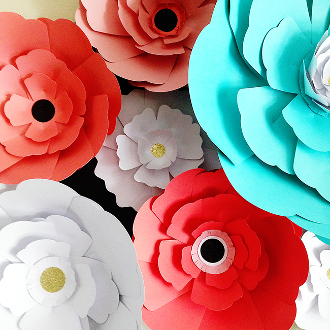Pen paper flowers craft giant paper flowers friday may 29 mightylinksfo