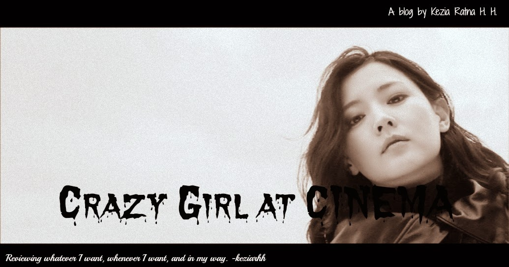 Crazy Girl at Cinema